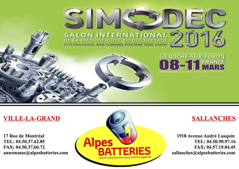 simodec alpes batteries